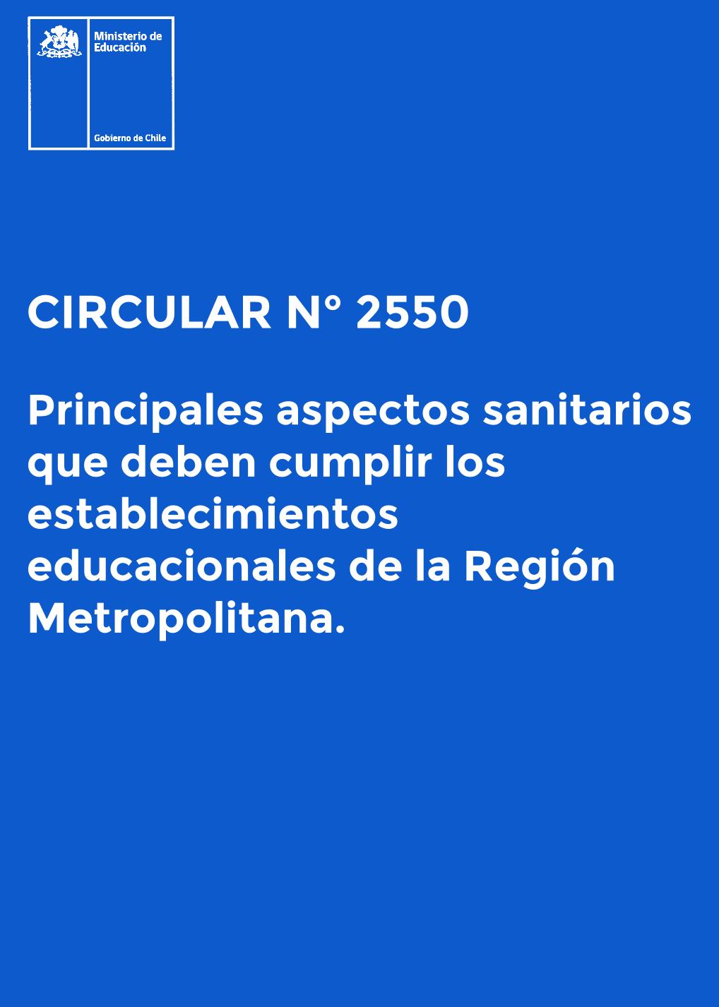 circular 2550